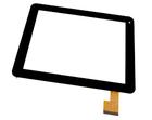 Сенсорное стекло (тачскрин) CTP208-097-A, черный