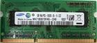 Модуль памяти Samsung SO-DIMM DDR3 SDRAM 1 ГБ PC3-10600, 1333 МГц, M471B2873FHS-CH9