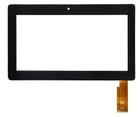Сенсорное стекло (тачскрин) SLC07006A, черный