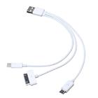 Универсальный USB кабель 3 в 1 для зарядки