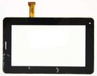 Сенсорное стекло (тачскрин) GM070004G1-FPC-2, черный