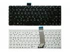 Клавиатура для ноутбука Asus VivoBook S400, черная, без рамки, плоский Enter, MP-12F33US-9201