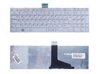 Клавиатура для ноутбука Toshiba Satellite L850, L875, P850, белая, с рамкой, 0KN0-ZW3US23