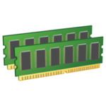 Модуль памяти Qimonda SO-DIMM DDR2 RAM 1 Гб PC2-5300, 667 МГц, HYS64T128021EDL-3S-B2