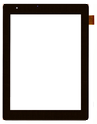 Сенсорное стекло (тачскрин) Explay Mini TV 3G, 04-0800-0753 V2, черный