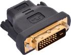 Переходник HDMI (f) - DVI-D (m)