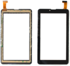 Сенсорное стекло (тачскрин) AST-7001, черный