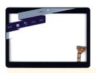 Сенсорное стекло (тачскрин) Irbis TZ967, черный, с рамкой