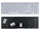 Клавиатура для ноутбука Sony Vaio VPC-EB, VPCEB, белая, с рамкой, 148793271