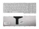 Клавиатура для ноутбука Toshiba Satellite C650 C660 C670 L670 L750 L775, белая, 9Z.N4WSU.10R