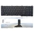 Клавиатура для ноутбука Toshiba Satellite C650 C660 L650 L675 L750 L775, черная, NSK-TN00R