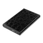 """Внешний корпус для жесткого диска 2.5"""", Gembird, SATA USB 2.0, металл+кожзам"""