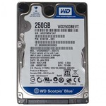 Жесткий диск Western Digital Blue WD2500BEVT 250 Гб